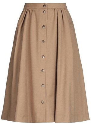 Le Mont St Michel Knee length skirt