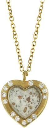 Darsana Sweetheart Yellow Gold Necklace