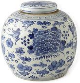 Vintage B/W Porcelain Jar