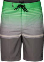 """Hurley Men's Rafters Stripe 21"""" Boardshorts"""