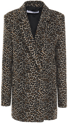 IRO Leopard-print Felt Jacket