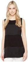 Vince Camuto Sleeveless Rumple Tunic with Side Slits Women's Blouse