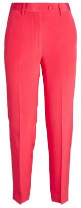 Kiton Silk Straight-Leg Trousers