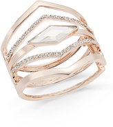 INC International Concepts Multi-Row Pointed Crystal Bangle Bracelet, Only at Macy's