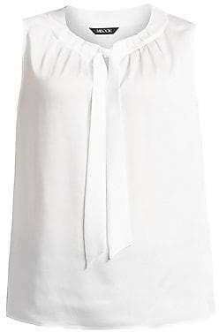 Misook Misook, Plus Size Women's Bold Tie Sleeveless Blouse