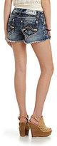 Miss Me M-Stitch Cut-Off Shorts