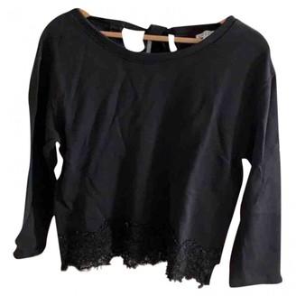 Claudie Pierlot Black Cotton Knitwear for Women