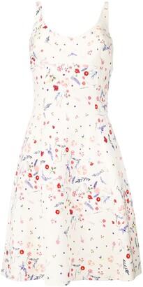 Ermanno Scervino Floral Print Summer Dress