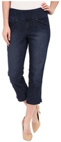 Jag Jeans Marion Crop Comfort Denim in Blue Shadow