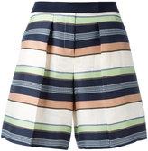 Jil Sander Navy striped shorts