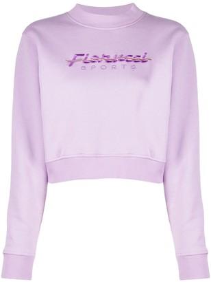 Fiorucci Embroidered-Logo Cotton Sweatshirt