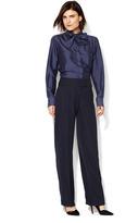 Giorgio Armani Classic Crepe Wool Pant