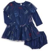 Infant Girl's Stella Mccartney Kids Embroidered Tulle Dress