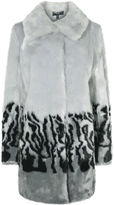 Karen Millen Oversized Faux Fur Coat