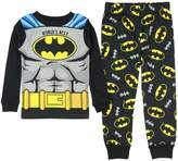 AME Sleepwear DC Comics Batman Little Boys' World's Best Long Sleeve Pajamas (T)