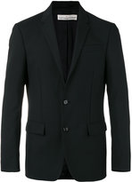 Golden Goose Deluxe Brand single breasted blazer - men - Cupro/Viscose/Mohair/Wool - S