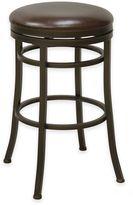 Monroe 30-Inch Backless Swivel Barstool in Bronze