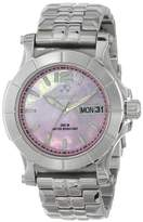 Quark's REACTOR Women's 66013 Large Dial Area Easy Reading Watch