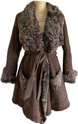 Ventcouvert Brown Shearling Coats