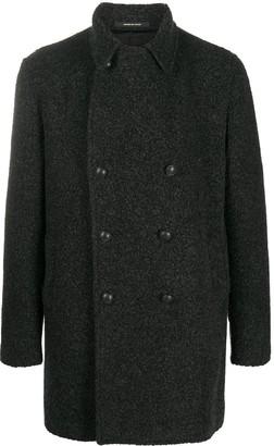Tagliatore Notched Collar Coat