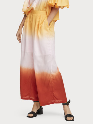 Scotch & Soda Wide Leg Ombre Trousers | Women