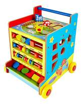 Fashion World Wooden 8 in 1 Activity Learning Cart