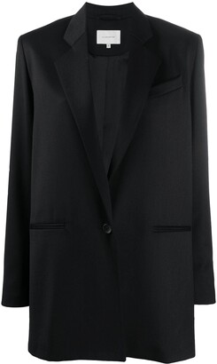 LA COLLECTION Sarah single-breasted virgin wool blazer