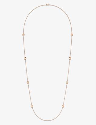Chaumet Liens Séduction 18ct rose-gold and 1.4ct brilliant-cut diamond necklace