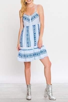 Flying Tomato Summer In Blue Dress
