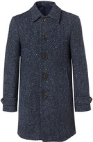 Hackett Donegal Herringbone Wool Coat