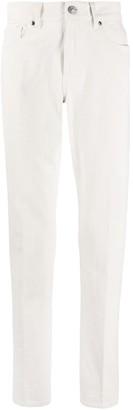 Ermenegildo Zegna Brand Patch Straight-Leg Jeans