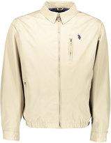 U.S. Polo Assn. Thompson Khaki Small Logo Micro Golf Jacket