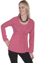 Scully Cotton Pullover Top PSL-162 (Women's)