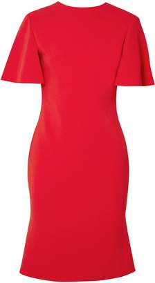 Brandon Maxwell Open-back Stretch-crepe Mini Dress
