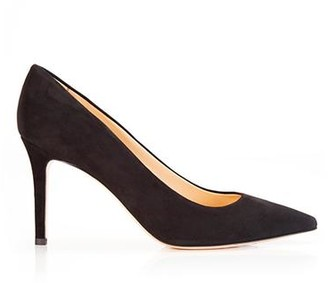 Marion Parke Must Have 85 Navy | Classic Suede High Heel Pump