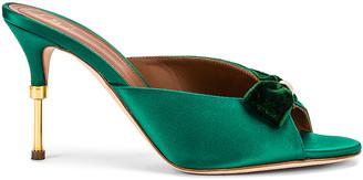 Malone Souliers Paiige 85 Heel in Emerald | FWRD