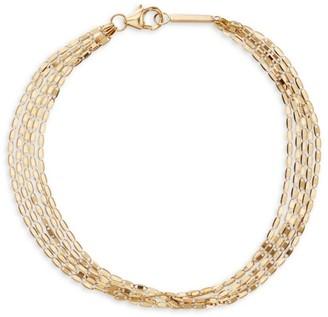 Lana Mailibu 14K Yellow Gold 5-Chain Strand Bracelet
