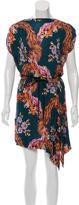 Vivienne Westwood Floral Print Drawstring Dress