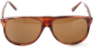 Persol Pre Owned D-Frame Sunglasses