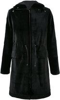 Liska - hooded coat - men - Mink Fur/Viscose - 52
