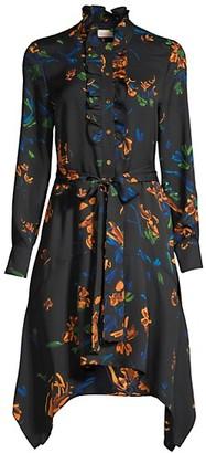 Tory Burch Pleated Cora Dress