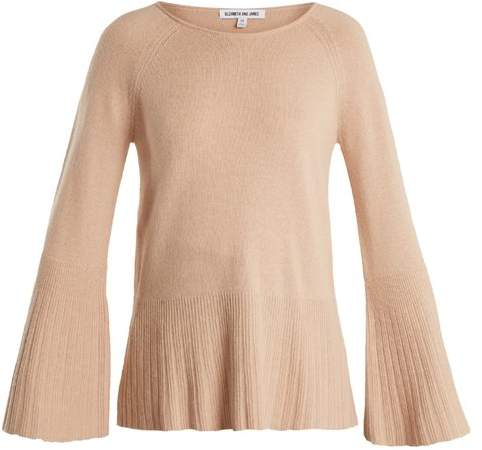 Elizabeth and James Clarette Wide Sleeve Knit Sweater - Womens - Nude