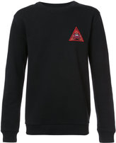 Givenchy Illuminati patch sweatshirt - men - Cotton - S