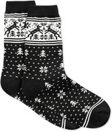 Charter Club Women's Norwegian Reindeer Socks, Created for Macy's