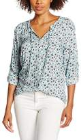 Tom Tailor Women's 20319490970 Blouse, Blue (Light Mineral Blue)