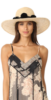 Kate Spade Sunhat with Pom-Poms