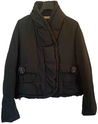 Louis Vuitton Black Polyester Coats
