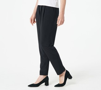 Truth + Style Regular Knit Slim Leg Pull-On Pants