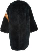 Alena Akhmadullina Arctic Fox Fur Oversized Coat