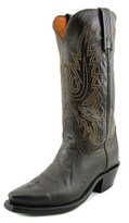 Lucchese Cole Men Square Toe Leather Western Boot.